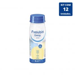 Kit Fresubin Energy Drink Baunilha 200ml - 12 unidades Fresenius Kabi