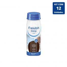 Kit Fresubin Energy Drink Chocolate 200ml - 12 unidades Fresenius Kabi
