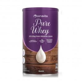 Pure Whey Sabor Neutro 375g - Sanavita