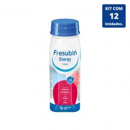 Kit Fresubin Energy Drink Morango 200ml - 12 unidades Fresenius Kabi