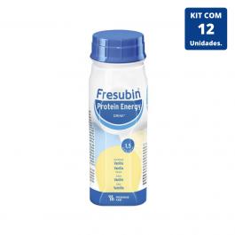 Kit Fresubin Protein Energy Drink Baunilha 200ml - 12 unidades Fresenius Kabi