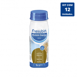 Kit Fresubin Protein Energy Drink Cappuccino 200ml - 12 unidades Fresenius Kabi