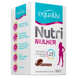 Equaliv Nutri Mulher 60cáps