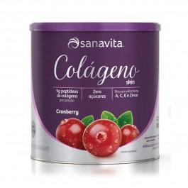 Colágeno Skin Cranberry 300g - Sanavita