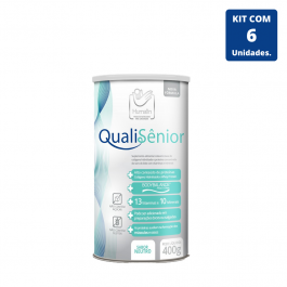 Kit QualiSênior 400 gramas - 6 unidades