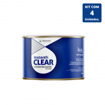 Instanth Clear 125g - 4 unidades