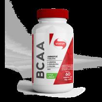 Aminofor BCAA Limão 60 tabletes - Vitafor