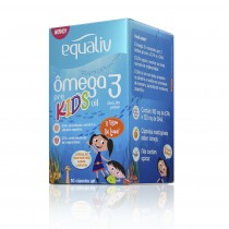 Equaliv Ômega 3 Kids 60 cáps