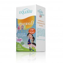 Equaliv Vitamina D Kids Sabor Morango 20ml