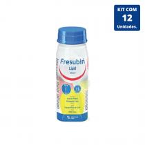 Kit Fresubin Lipid Drink Abacaxi com Coco 200ml - 12 unidades Fresenius Kabi
