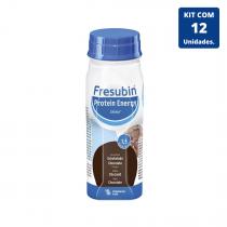 Kit Fresubin Protein Energy Drink Chocolate 200ml - 12 unidades Fresenius Kabi