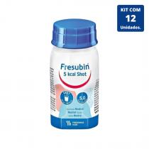Kit Fresubin 5.0 Kcal SHOT (Easy Bottle) 120ml - 12 unidades Fresenius Kabi