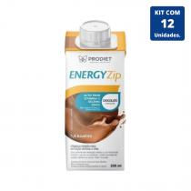Kit Energyzip Chocolate 200ml - 12 unidades