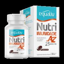 Suplemento nutricional Equaliv Nutri com 30 cápsulas