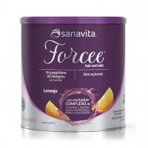Forcee Hair and Nails sabor Laranja 330g - Sanavita