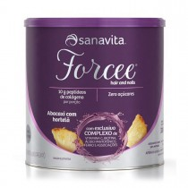 Forcee Hair and Nails sabor Abacaxi com Hortelã 330g - Sanavita