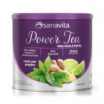 Power Tea Chá Verde Abacaxi com Hortelã 200g - Sanavita
