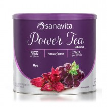 Power Tea Hibiscus sabor Uva 200g - Sanavita