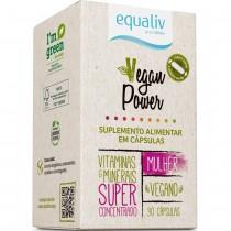 Equaliv Vegan Power Mulher - 30 Caps