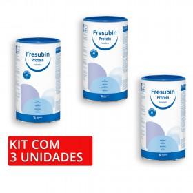 Kit Fresubin Protein Powder 300g - 3 unidades Fresenius Kabi